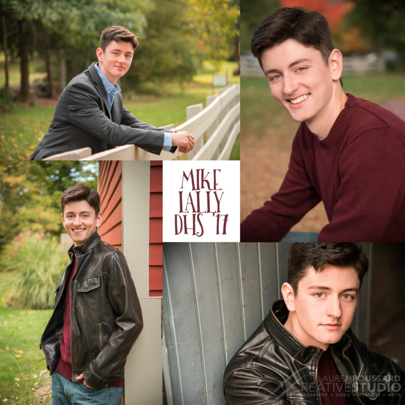 Senior Portraits at Lauren Poussard Studios Danvers MA